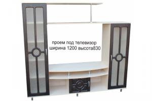 Стенка Мини-2 МДФ - Мебельная фабрика «Мебельный Арсенал»
