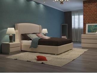 Кровать Новелла Люкс с кантом - Мебельная фабрика «ARISTA»