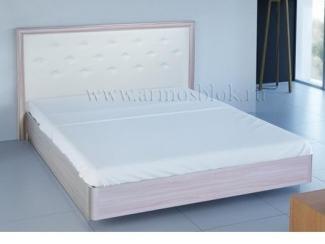 Кровать из экокожи Моника 2  - Мебельная фабрика «Армос»
