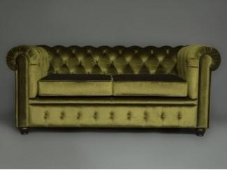 Прямой диван CHESTERFIELD - Мебельная фабрика «Berger»