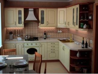 Вместительная кухня Бочка  - Мебельная фабрика «Массив»