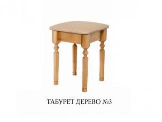 Табурет дерево 3 - Мебельная фабрика «Мир стульев», г. Кузнецк