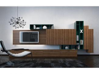Гостиная стенка 047 - Мебельная фабрика «Mr.Doors»