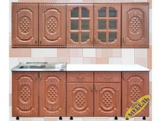Кухня прямая 63 - Мебельная фабрика «Трио мебель»