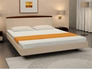 Низкая двухспальная кровать Эвита S  - Мебельная фабрика «Торис»