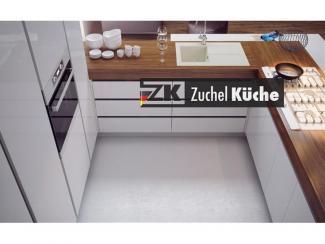 Кухонный гарнитур угловой Норден Бланч - Мебельная фабрика «Zuchel Kuche»