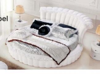 Дорогая кровать Letto Rotondo 04 - Мебельная фабрика «Галерея Мебели GM»
