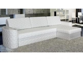 Стильный белый угловой диван Виват  - Мебельная фабрика «Стрэк-тайм»