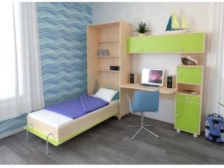 Детская Юниор 4 со шкафом-кроватью - Мебельная фабрика «Мульто»