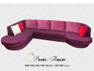 Угловой диван Парадиз - Мебельная фабрика «Angelo Astori»
