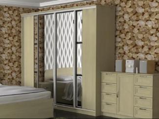 Шкаф - купе четырехдверный - Мебельная фабрика «Феникс-мебель»