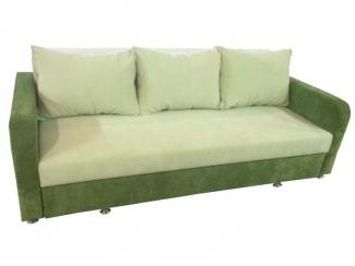 Зеленый прямой диван  - Мебельная фабрика «Гарни», г. Волгоград