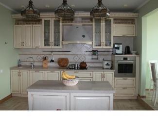 Классическая прямая кухня  - Мебельная фабрика «Настоящая Мебель»