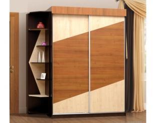 Шкаф-купе фасад со стеллажом-4 Дорожка - Мебельная фабрика «РиАл»