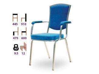 Стул в голубом цвете Равенна П - Мебельная фабрика «Реванш СПБ»
