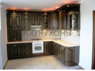 Классическая угловая кухня  - Мебельная фабрика «700 Кухонь»