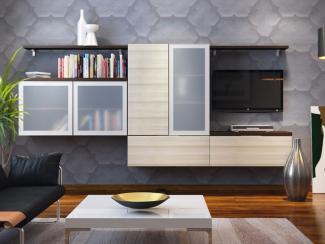 Гостиная стенка Август 4 - Мебельная фабрика «Вариант М»