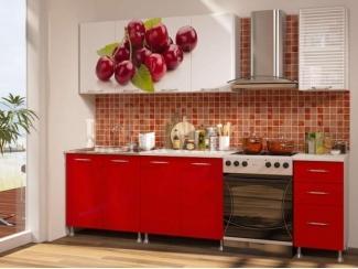 Кухня Вишня фотопечать  - Мебельная фабрика «Disavi»