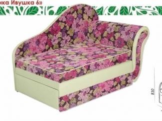 Тахта с цветами Росинка Ивушка 6 - Мебельная фабрика «Ивушка»