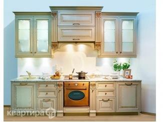 Кухня прямая Киприда - Мебельная фабрика «Камеа (Квартира 48)»