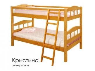 Кровать Двухъярусная Кристина - Мебельная фабрика «Массив»
