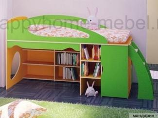Детская кровать-чердак Rise 2 - Мебельная фабрика «Happy home»