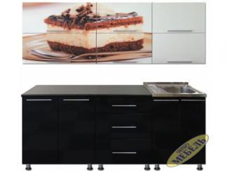 Кухня прямая 40 - Мебельная фабрика «Трио мебель»