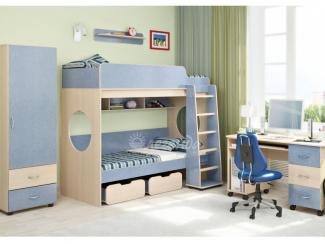 Детская комната Легенда 7 - Мебельная фабрика «Деликат»