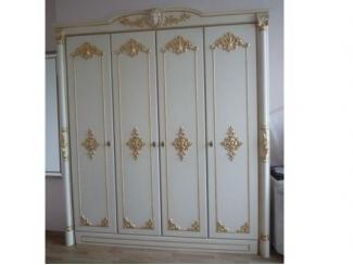 Белый шкаф 4 створки - Мебельная фабрика «Максик»