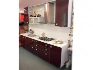кухня прямая Визит Акрил