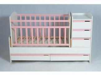 Детская кроватка КТМ WITE - Мебельная фабрика «Папа Карло»