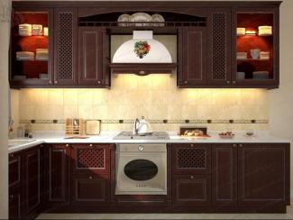 Кухня Версаль массив - Мебельная фабрика «АСТ-мебель»