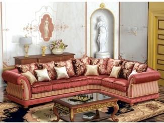 Яркий угловой диван Антонио  - Мебельная фабрика «Экодизайн», г. Москва