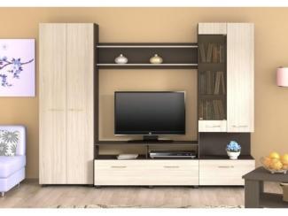 Гостиная стенка Кристи 5 - Мебельная фабрика «Волжская мебель»