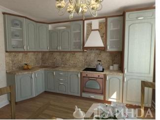 Кухня Валлония МДФ  - Мебельная фабрика «Линда»