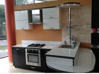 Кухня из пластика ПЛ-3 - Мебельная фабрика «Леспром»
