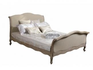 Кровать из массива дуба в стиле прованс - Мебельная фабрика «Кадичи»