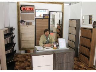 Мебельная выставка Москва: тумба для обуви - Мебельная фабрика «Барэль»