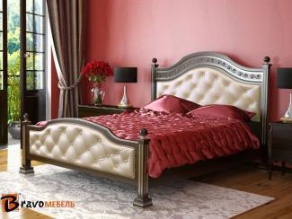Кровать Клеопатра - Мебельная фабрика «Bravo Мебель»