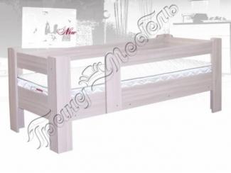 Односпальная кровать с бортами Непоседа 1 - Мебельная фабрика «Гранд-мебель»