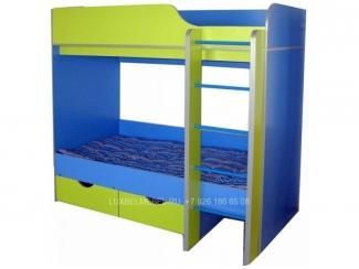 Двухъярусная кровать с ящиками модель 309 - Мебельная фабрика «ЛюксБелМебель»