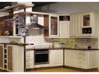 Кухня угловая Кантри 3 - Мебельная фабрика «ДСП-России»