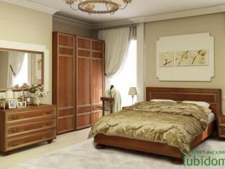 спальный гарнитур Александрия орех - Мебельная фабрика «Любимый дом (Алмаз)»