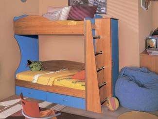 Детская 2х-ярусная кровать Командор-1 - Мебельная фабрика «Аристократ»
