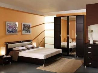 Спальня в цвете венге  - Мебельная фабрика «Перспектива»
