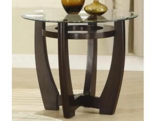 Стол журнальный, деревянный, круглый-1683W - Импортёр мебели «МебельТорг»