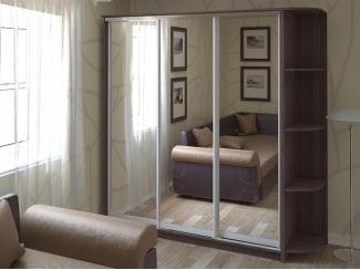 Шкаф Лондон с зеркалами  - Мебельная фабрика «Центр мебели Интерлиния»