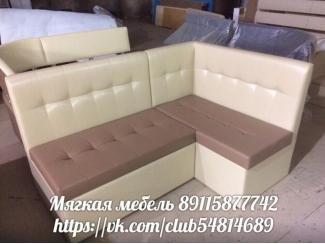 Диван кухонный угловой НАЙЗ с ящиками - Мебельная фабрика «ИП Такшеев»