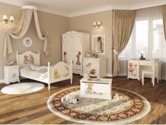 Детская Французские Мотивы 4 - Мебельная фабрика «Артим»