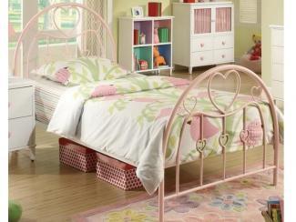 Кровать металлическая  6170 - Импортёр мебели «МебельТорг»